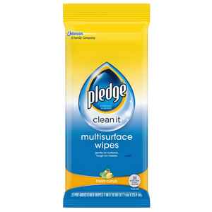 Pledge  No Scent Multi-Surface Cleaner, Protector and Deodorizer  Liquid  25 oz.