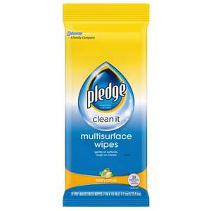 Pledge  No Scent Multi-Surface Cleaner, Protector and Deodorizer  25 oz. Liquid