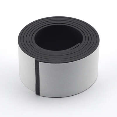 Master Magnetics  The Magnet Source  1 in. W x 30 in. L Mounting Tape  Black