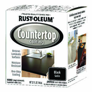 Rust-Oleum  Black  Countertop Kit  32 oz.