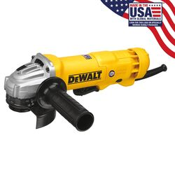 DeWalt Corded 11 amps 4-1/2 in. Small Angle Grinder Bare Tool 11000 rpm