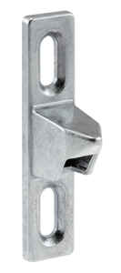 Prime-Line  Chrome  Steel  Latch Strike  1 pk