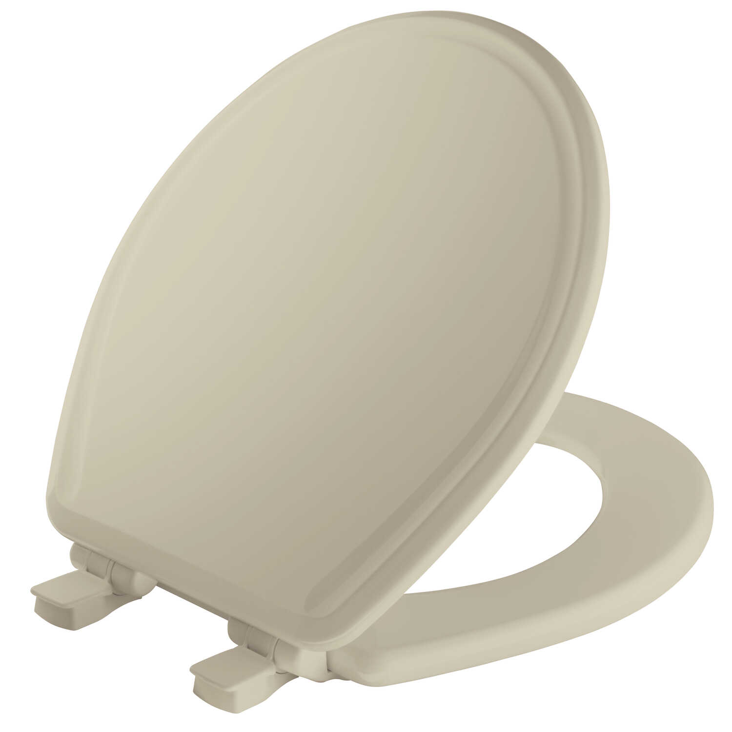 Mayfair  Slow Close Round  Bone  Molded Wood  Toilet Seat