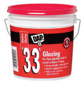 DAP  White  Glazing Compound  1 gal.