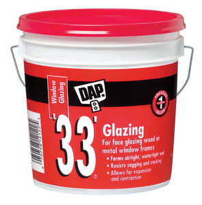 Dap  White  1 gal. Glazing Compound