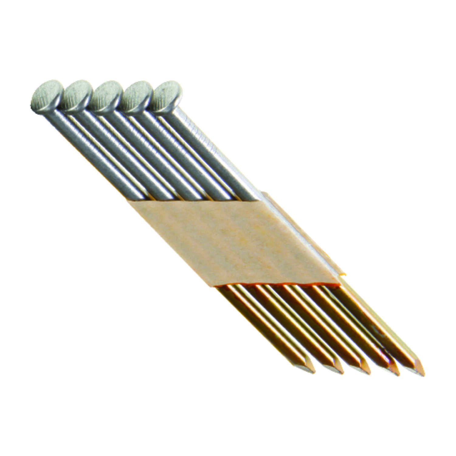 Grip-Rite  30 deg. 10 Ga. Smooth Shank  Angled Strip  Framing Nails  3-1/4 in. L x 0.13 in. Dia. 100