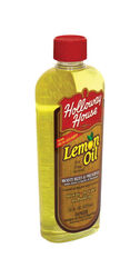 Holloway House  Lemon Scent Lemon Oil  16 oz. Liquid