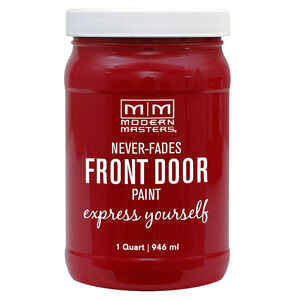 Modern Masters  Satin  Sophisticated  Front Door Paint  1 qt.