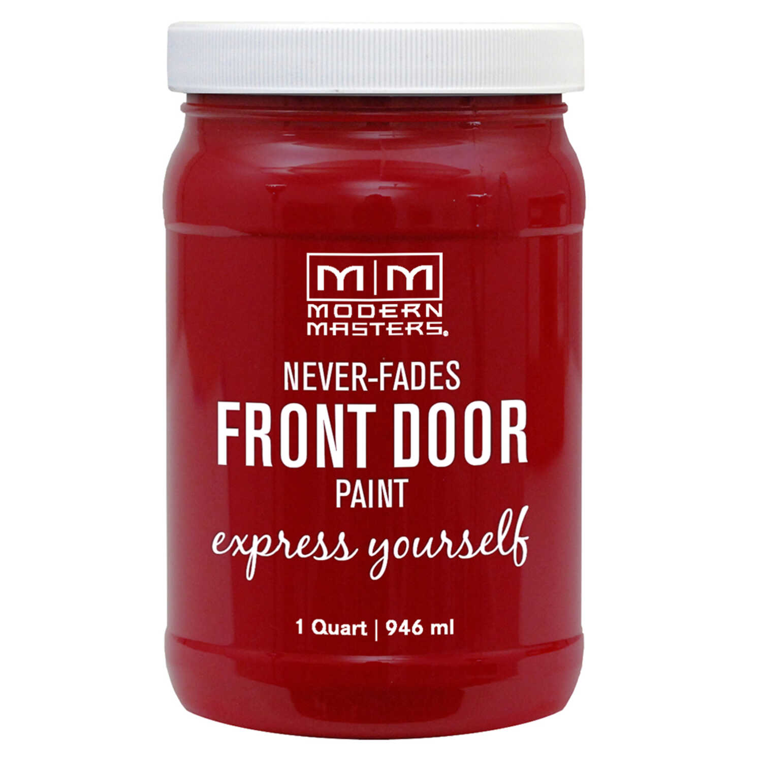 Modern Masters  Door Paint  Satin  Sophisticated  Front Door Paint  1 qt.