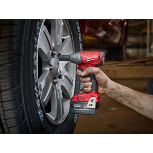 Milwaukee  M18 FUEL  3/8 in. Square  Cordless  Brushless Friction Ring  Impact Wrench with Friction