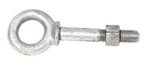Baron  5/16 in.  x 4-1/4 in. L Hot Dipped Galvanized  Steel  Shoulder Eyebolt  Nut Included