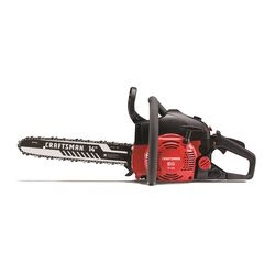 Craftsman  S145  14 in. 42 cc Gas  Chainsaw