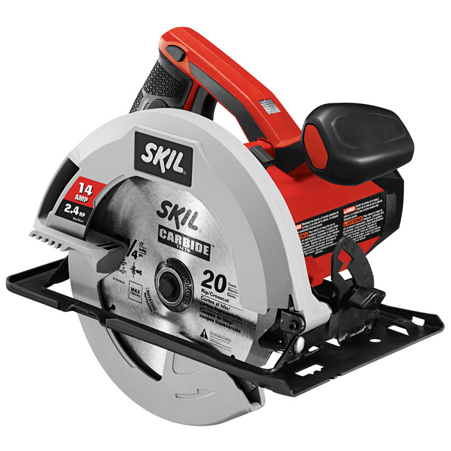 SKILSAW 7-1/4 in. Corded 14 amps Circular Saw Kit 5300 rpm