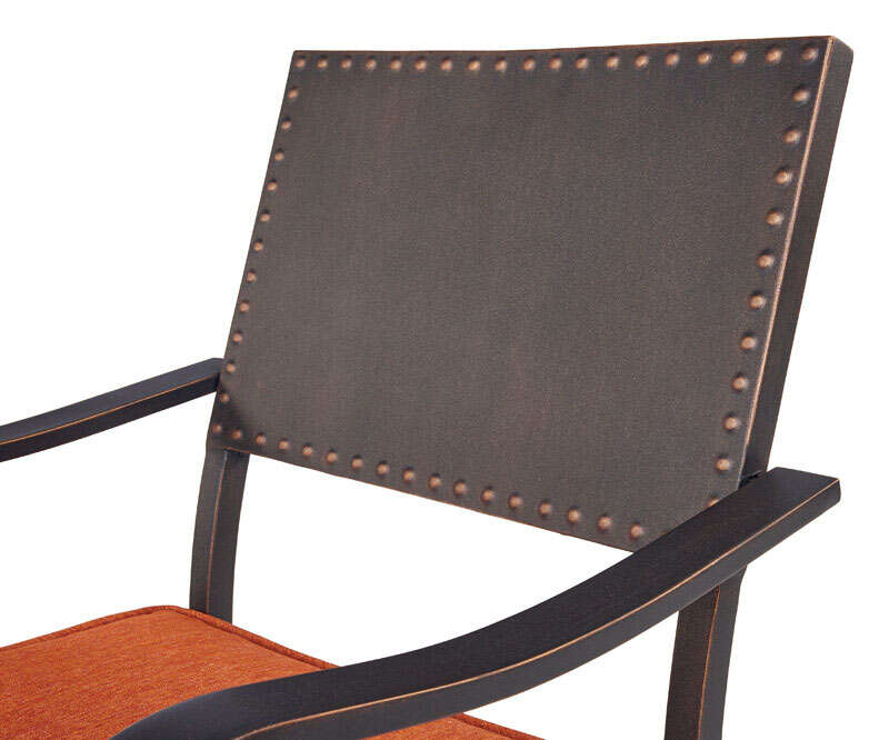 Living Accents  7 pc. Ridgeview  Patio Set  Rust