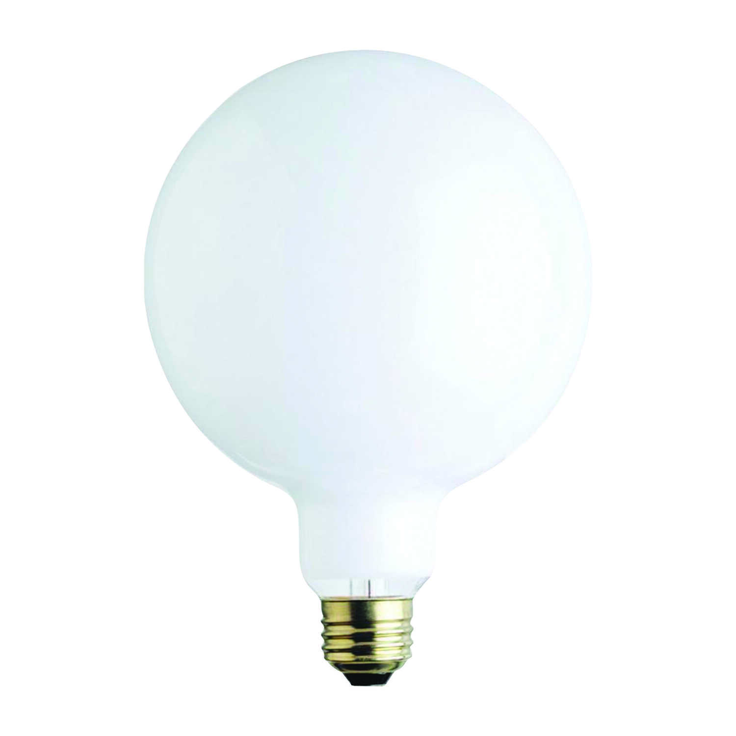 Ace  60 watts G40  Incandescent Bulb  650 lumens Soft White  Globe  1 pk