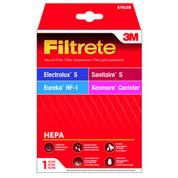 3M  Filtrete  Vacuum Filter  For Electrolux Style S HEPA 1 pk