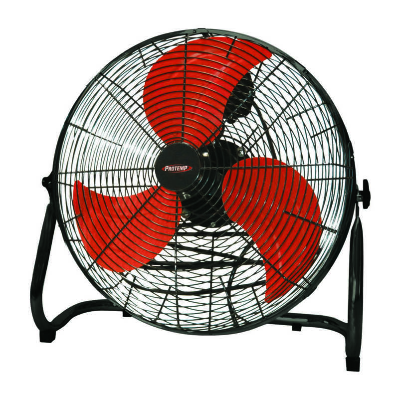 ProTemp  23.2 in. H x 20 in. Dia. 3 speed Electric  High Velocity Fan