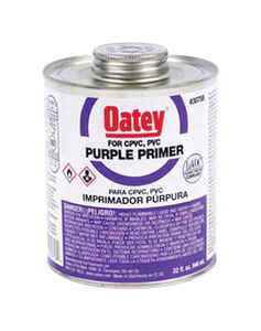 Oatey  Purple  Primer and Cement  For CPVC/PVC 1 gal.