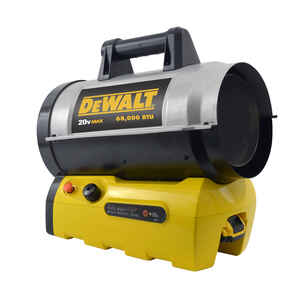DeWalt  1700 sq. ft. Propane  Forced Air  Portable Heater  68000 BTU