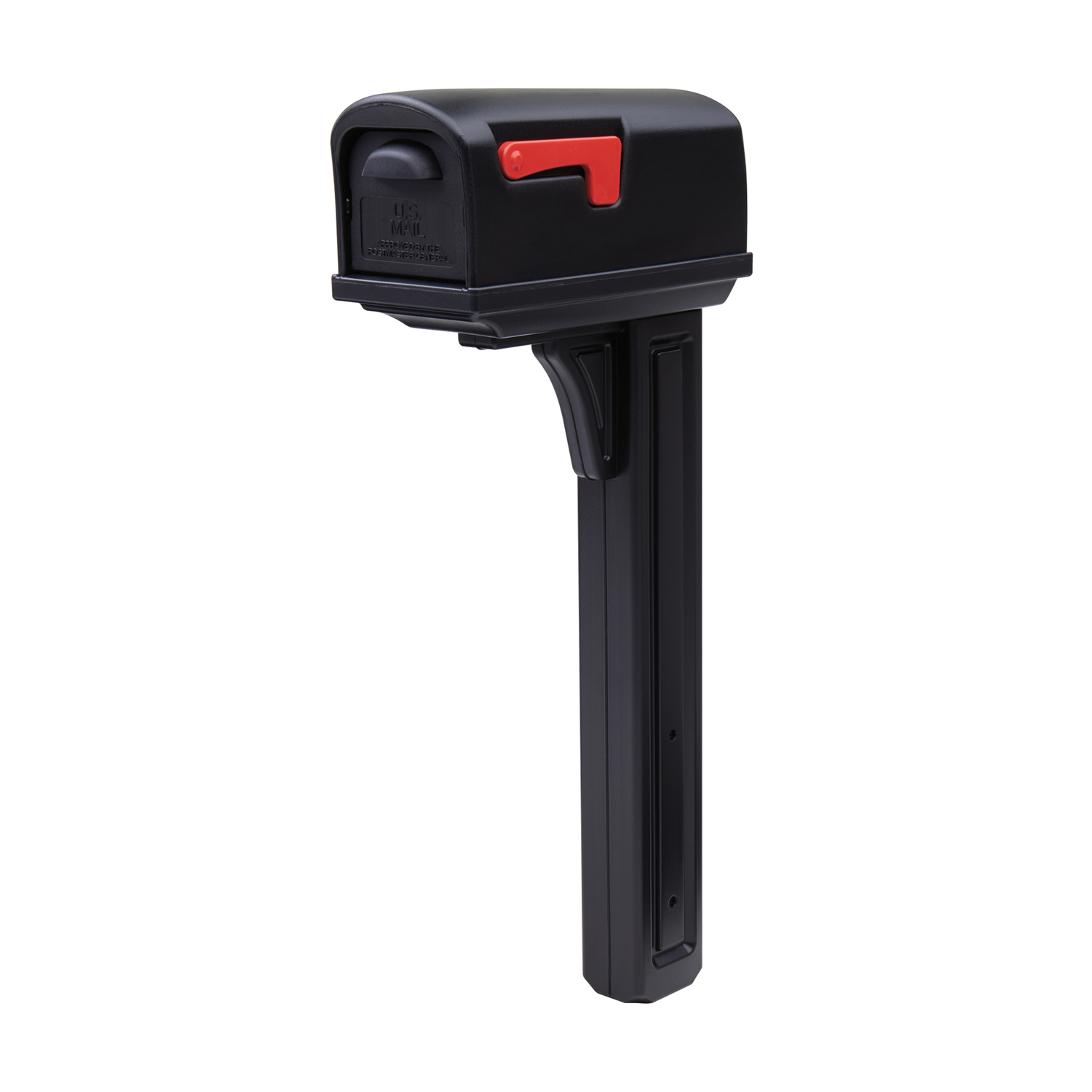 mailbox with mail indicator. Simple Mail Gibraltar Mailboxes Classic Plastic Post And Box Combo Black  2034 In Intended Mailbox With Mail Indicator