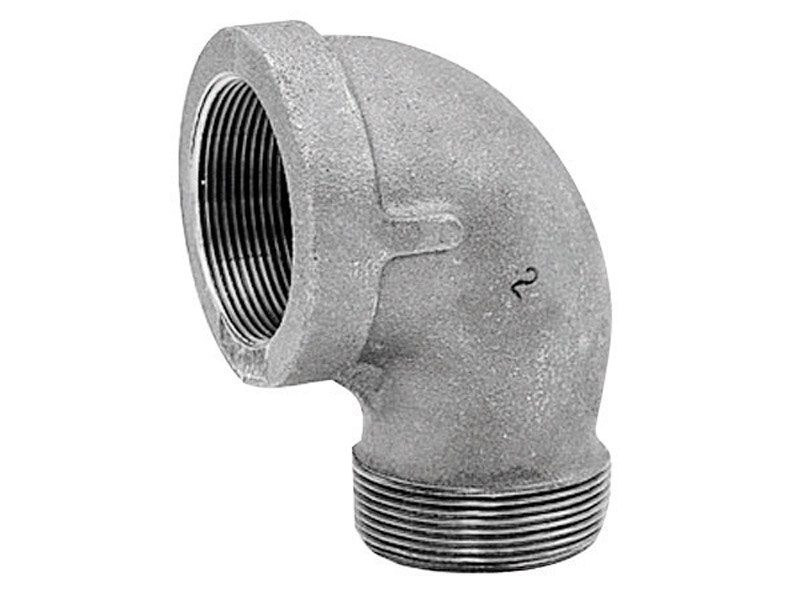 Anvil  1/2 in. FPT   x 1/2 in. Dia. FPT  Galvanized  Malleable Iron  Street Elbow