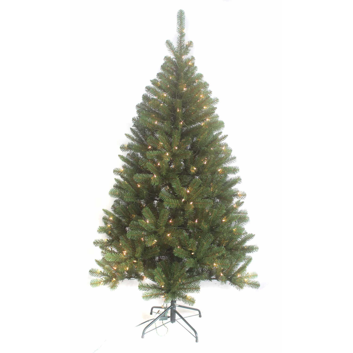 Celebrations  Multicolored  Prelit 6 ft. Jackson  Artificial Tree  200 lights 585 tips
