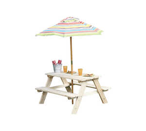 Living Accents  Kids  2 pc. Beach  Umbrella Table
