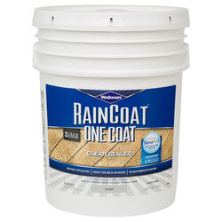 Wolman  RainCoat  Clear  Water-Based  Wood Sealant  5 gal.