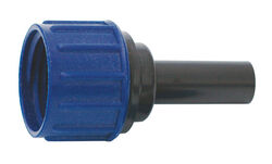 Raindrip  Plastic  Drip Irrigation Swivel/Compression Adapter  1 pk