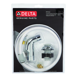 Delta  Metallic  Chrome  Kitchen Faucet Sprayer  Delta Faucets  Plastic
