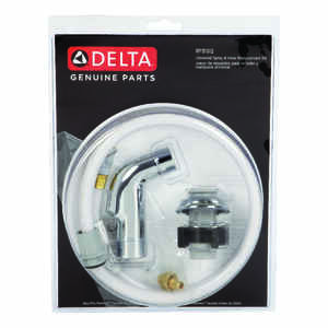 Delta  Chrome  Chrome  Plastic  Kitchen Faucet Sprayer  Delta Faucets