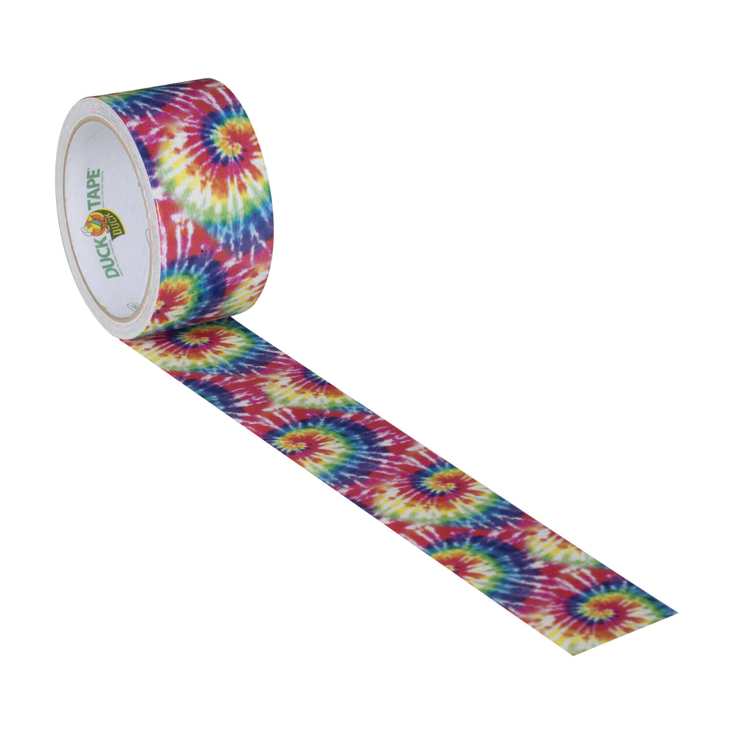 Duck Brand  30 ft. L x 1.88 in. W Multicolored  Love Tie Dye  Duct Tape