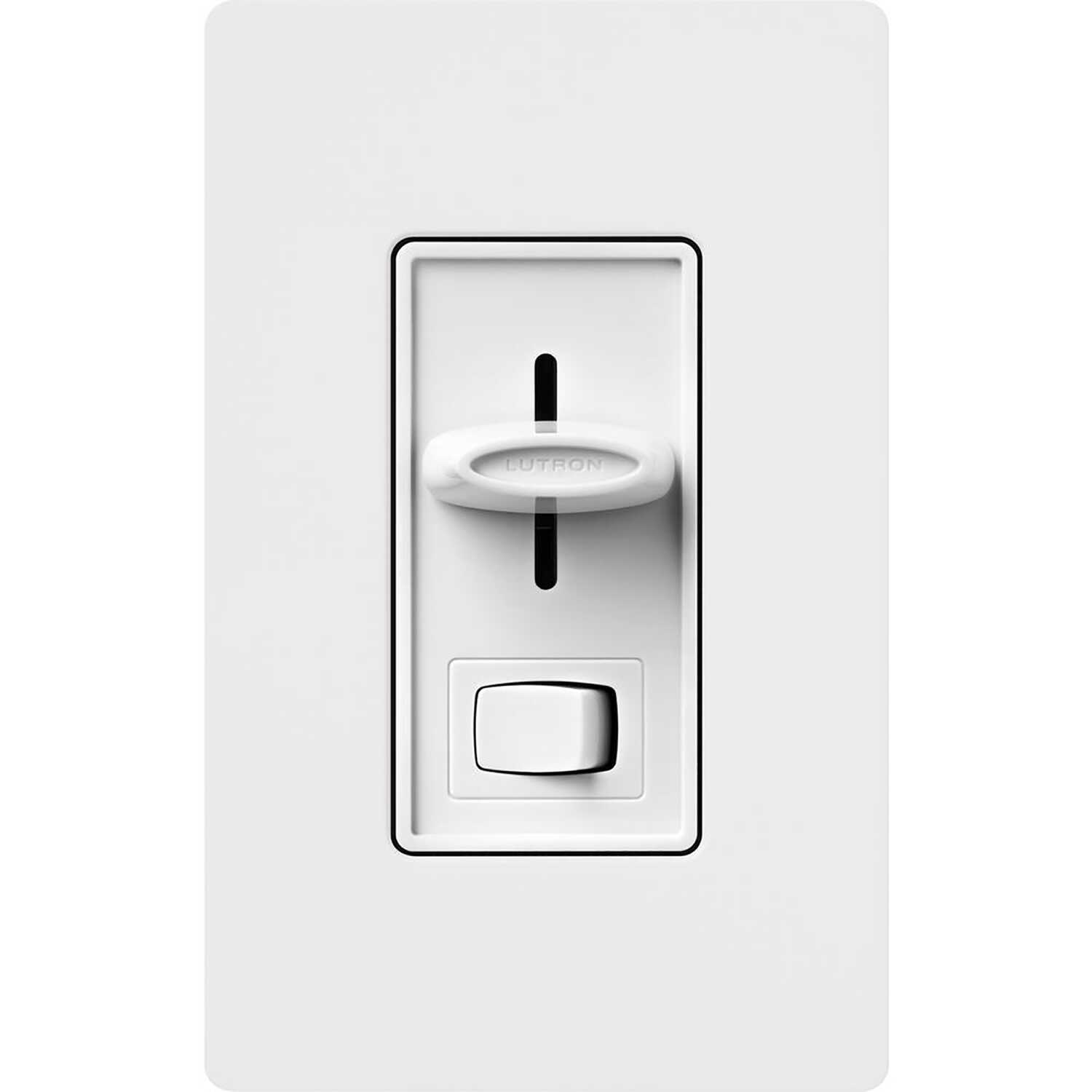 Lutron  Skylark  White  150 watts 3-Way  Dimmer Switch
