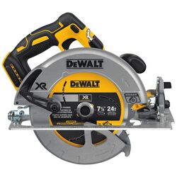 DeWalt  20V MAX XR  20 volt 7-1/4 in. Cordless  Brushless  Circular Saw  Tool Only