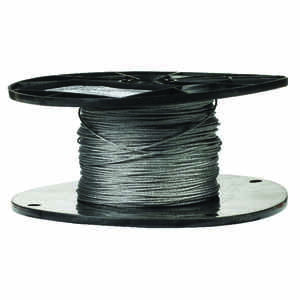Campbell Chain  Galvanized  Galvanized Steel  1/16 in. Dia. x 500 ft. L Aircraft Cable
