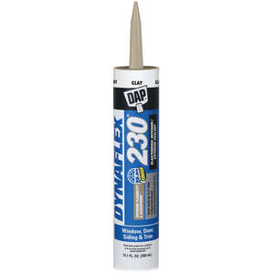 Dap  Dynaflex 230  Latex  Clay  Sealant  10.1 oz.
