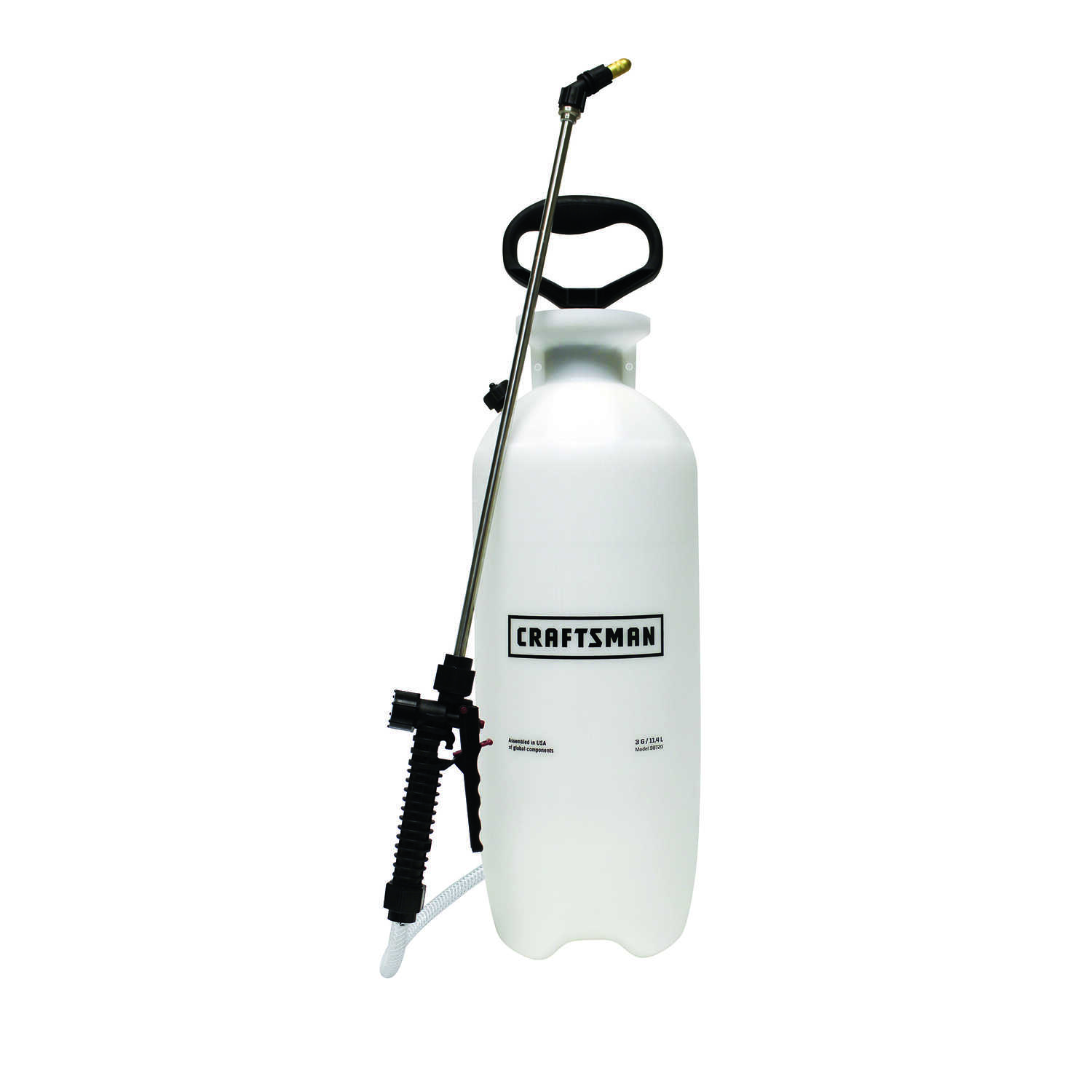 Craftsman  Adjustable Spray Tip Tank Sprayer  3 gal.