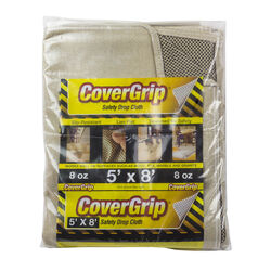 CoverGrip 5 ft. W x 8 ft. L 8 Canvas Drop Cloth 1 pk