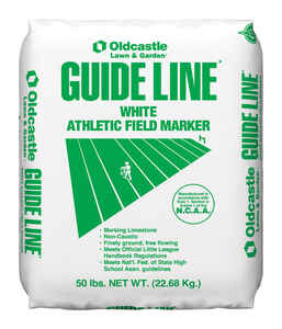 Guideline  White  Athletic Field Marker  50 lb.
