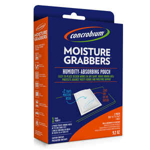 Concrobium  Moisture Grabbers  9.2 oz. No Scent Humidity-Absorbing Pouch