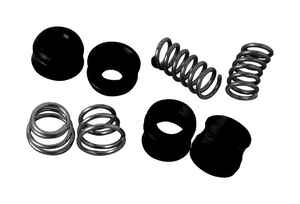 BrassCraft  1 in. #10  Rubber / Stainless Steel  Old and New Style  Seat-Spring Kit  8 pc.
