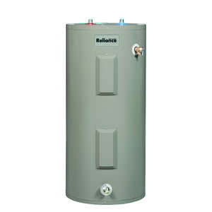 Reliance  Electric  Water Heater  49-1/4 in. H x 23 in. W x 23 in. L 50 gal.