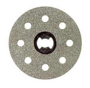 Dremel  EZ Lock  1-1/2 in. Dia. x .023 in. thick  Diamond  Grinding Wheel  20000 rpm 1 pc.