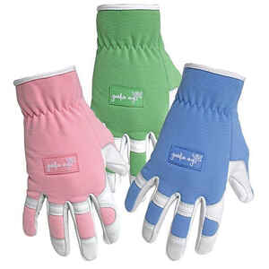 Boss  Guardian Angel  Women's  Indoor/Outdoor  Goatskin Leather  Garden  Gloves  Assorted  One Size
