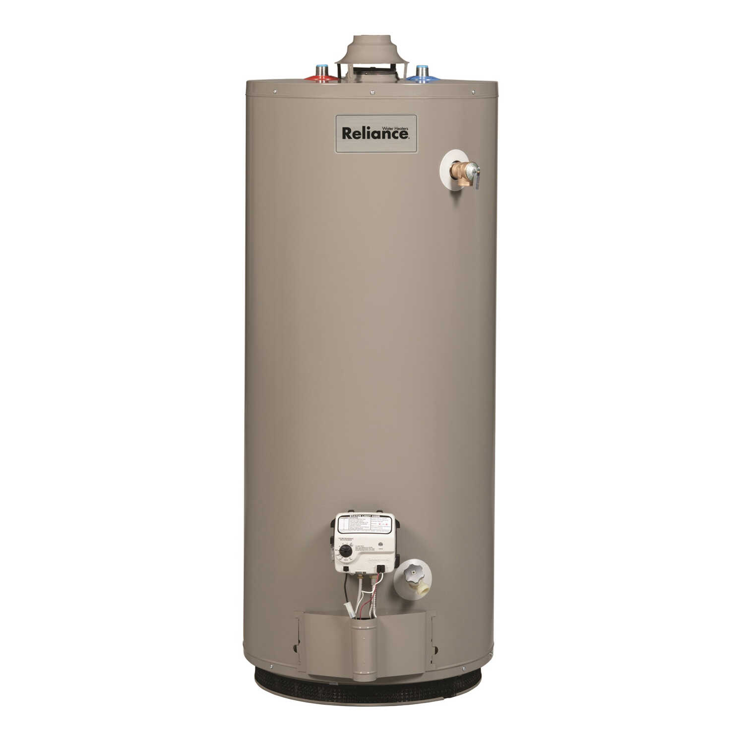 Reliance  Water Heater  Natural Gas  30 gal. 50 in. H x 20 in. L x 20 in. W