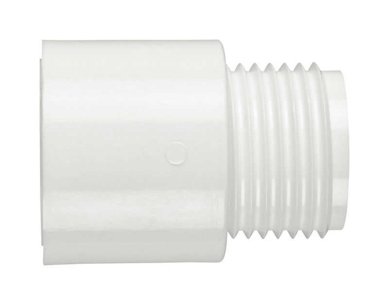 Lasco  PVC  Adapter  3/4 in. Dia. x 3/4 in. Dia. White  1 pk