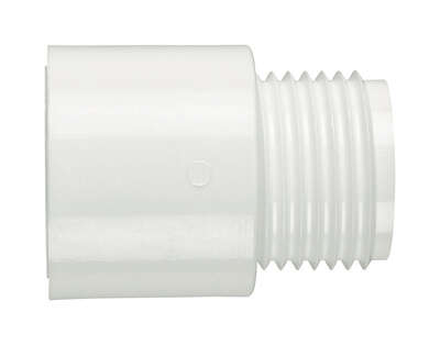 Lasco  Schedule 40  3/4 in. MHT   x 3/4 in. Dia. Slip  PVC  Hose Adapter