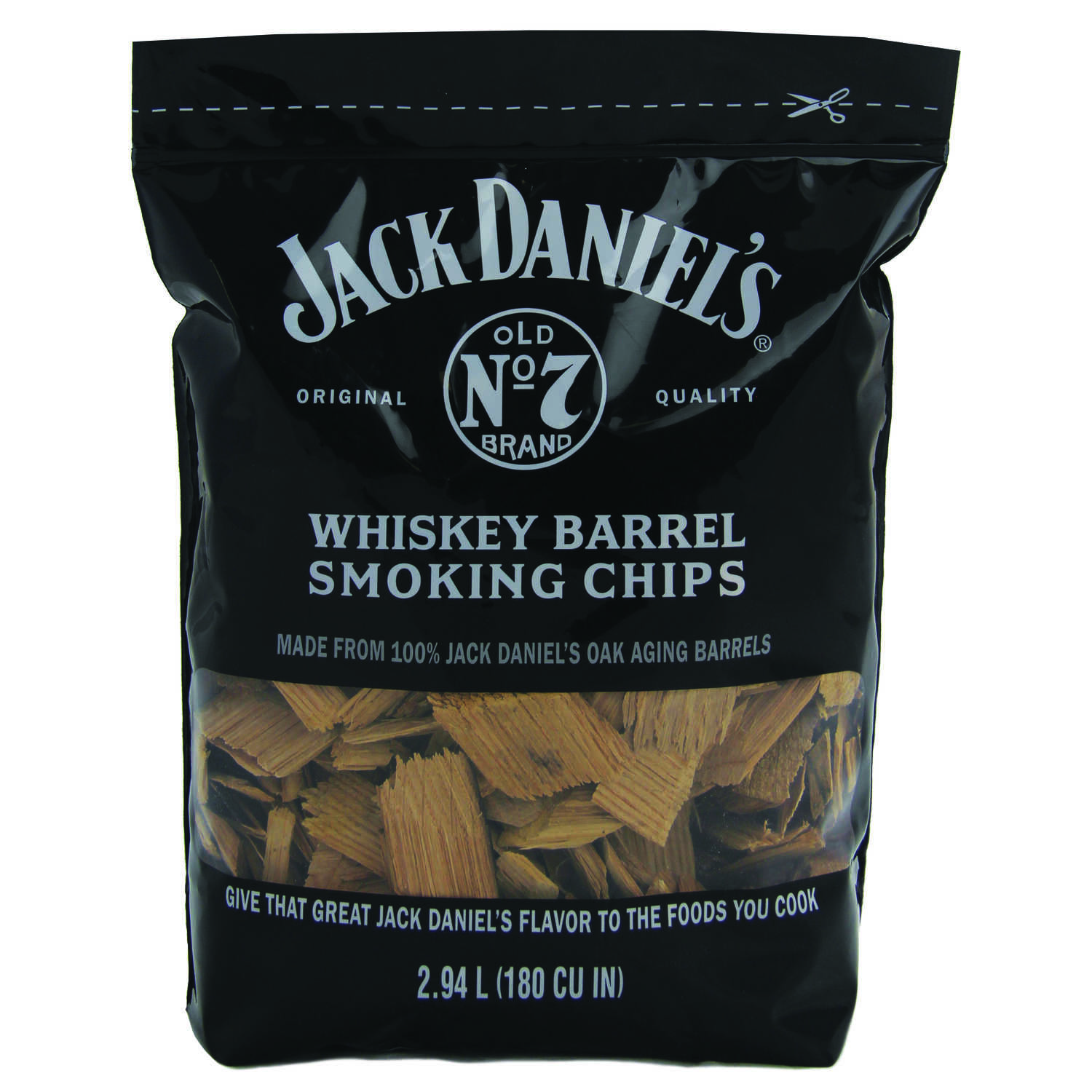 Jack Daniel's  Oak  Wood Smoking Chips  180 cu. in.