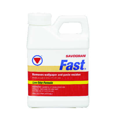 Savogran  Fast  Odorless Liquid  Wallpaper Stripper  1 pt.