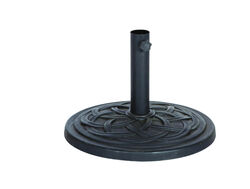 Bond  Black  Envirostone  Umbrella Base  17.7 in. L x 17.7 in. W x 13.18 in. H